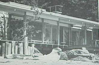 CABINS AND VACATION HOUSES,  A SUNSET BOOK (1967)