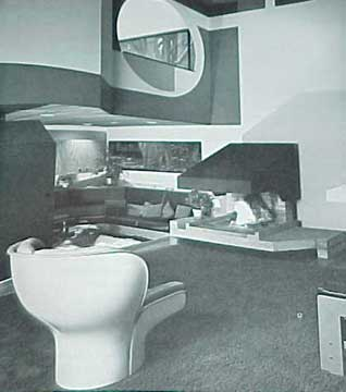 INSIDE TODAY'S HOME, BY RAY AND SARAH FAULKNER 1975