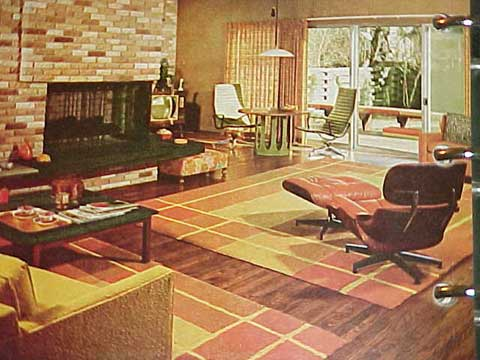 BETTER HOMES AND GARDENS DECORATING BOOK (1968 edition)