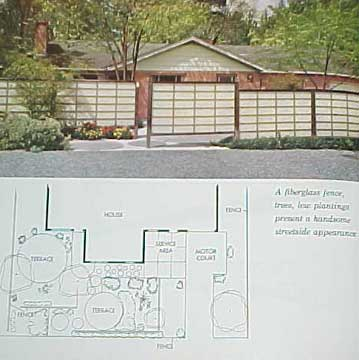 BETTER HOMES AND GARDENS LANDSCAPE PLANNING 1963