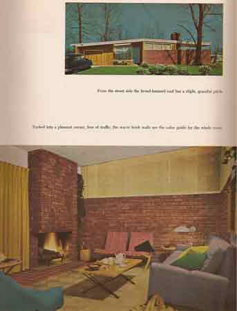 McCall's Book of Modern Houses by  Mary Davis Gillies 1951