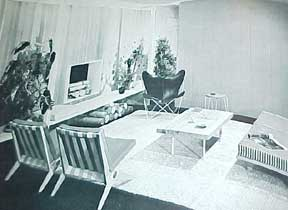 FURNITURE FOR MODERN INTERIORS BY DAL FABBRO 1954
