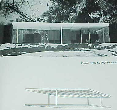MIES VAN DER ROHE , BY PHILIP JOHNSON MOMA 1947