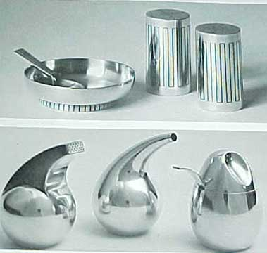 MODERN SILVER THROUGHOUT THE WORLD 1880-1967 GRAHAM HUGHES 1967