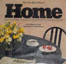 New York Times Home Book of Modern Design Styles 1982