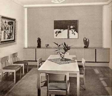 FURNITURE AND DECORATION PERIOD AND MODERN 1941