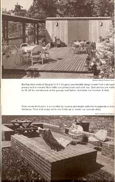 HOW TO BUILD PATIOS AND DECKS BY RICHARD DAY (1976)