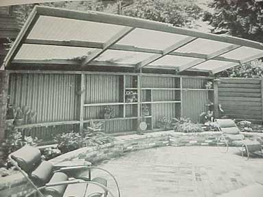 HOW TO BUILD PATIO ROOFS, A SUNSET BOOK (1956)