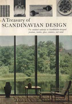 TREASURY OF SCANDINAVIAN DESIGN BY ERIC ZAHLE (1961)