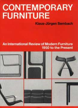 CONTEMPORARY FURNITURE by Klaus-Jurgen Sembach