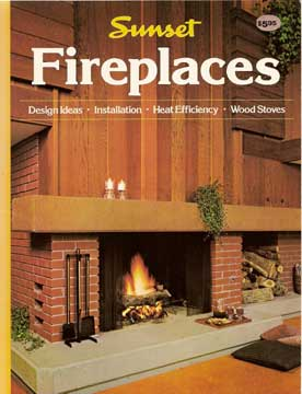 SUNSET FIREPLACES DESIGN IDEAS 1981