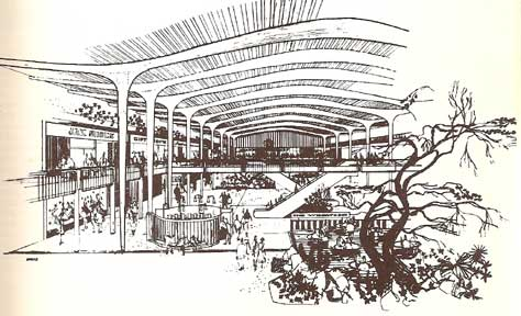 SHOPPING TOWNS USA , THE PLANNING OF SHOPPING CENTERS. 1960
