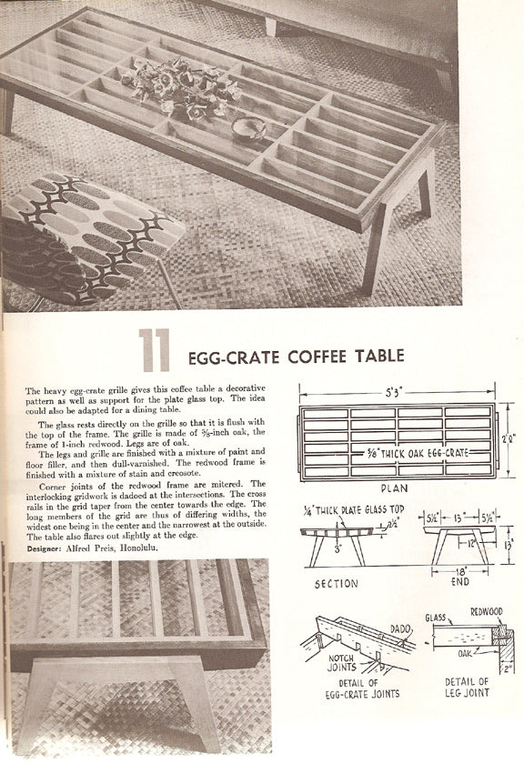 FURNITURE YOU CAN BUILD, A SUNSET BOOK (1962)