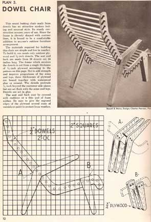 SUNSET HOW TO BUILD OUTDOOR FURNITURE (1953)