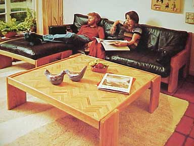 EASY TO MAKE TABLES & CHAIRS. A SUNSET BOOK (1976)