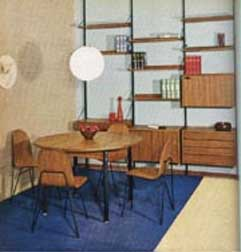 THE MODERN ROOM by Giulio Peluzzi 1967