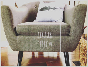 JIGGER Pillow COVER - White