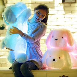 Lovely Dog Stuffed Animals With Light