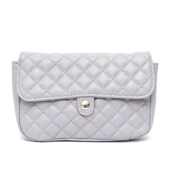 Quilted Vegan Leather 3-In-1 Shoulder Bag - The Little Secret Boutique
