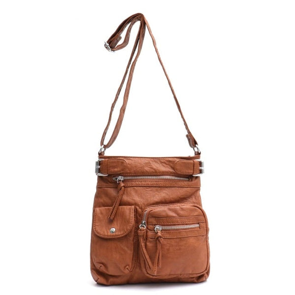 "Vegan ""Mushroom"" Leather Puffball Soft Traveler Cargo Bag"