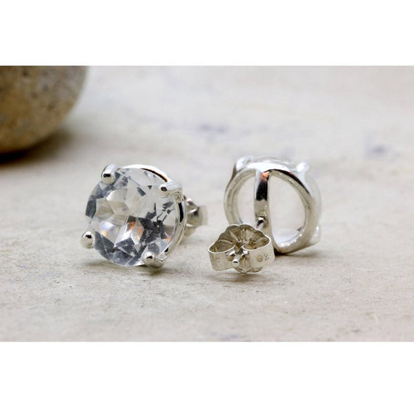 Quartz Crystal Stud Earrings - The Little Secret Boutique
