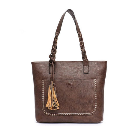 Luxury Collection Hand Woven Vegan Leather Bucket Crossbody Purse