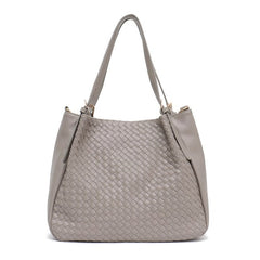 Luxury Collection Hand Woven Vegan Leather A-Line Purse - The Little Secret Boutique