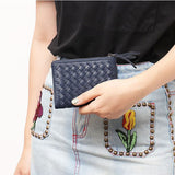 Mini Woven Wallet - The Little Secret Boutique