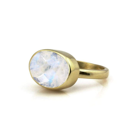 Aquamarine Statement Ring