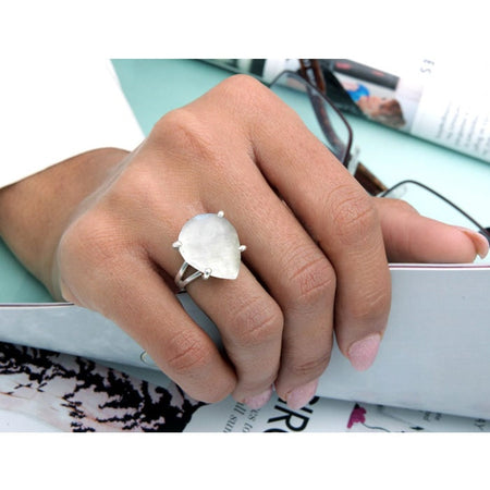 "Vegan ""V"" Ring"