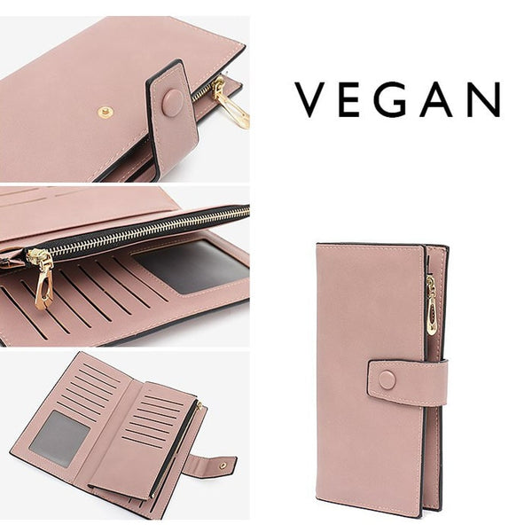 "The ""Everything"" 2.0 Vegan Leather Wallet - The Little Secret Boutique"