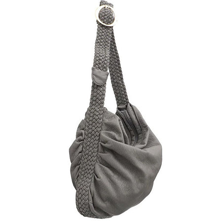 "Vegan ""Mushroom"" Leather Puffball Rockstar Backpack Hobo Bag"