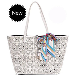 Georgia Floral Beach Tote - The Little Secret Boutique