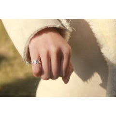 Silver Happy Elephant Ring - The Little Secret Boutique