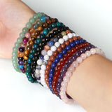 Natural Stone Beaded Friendship Bracelet - The Little Secret Boutique