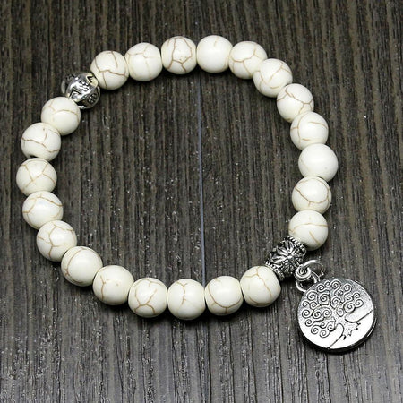 Spirit of Sea Life Stone Bracelet