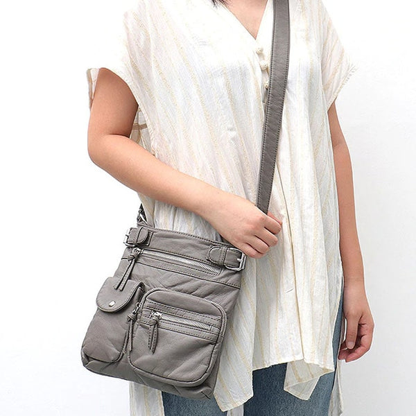 "Vegan ""Mushroom"" Leather Puffball Soft Traveler Cargo Bag - The Little Secret Boutique"