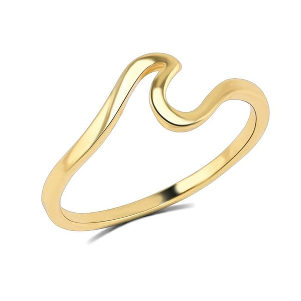 Wave Ring - The Little Secret Boutique