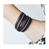 Crystal Wrap Bangle Bracelet - The Little Secret Boutique
