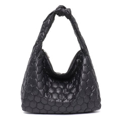 Zero Gravity Nylon Puffer Hobo - The Little Secret Boutique