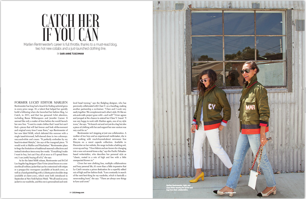 LALA Magazine Article: Catch Her If You Can