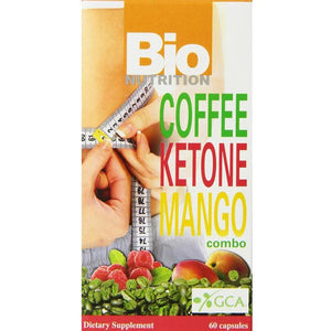 Bio Nutrition Coffee Ketone Mango Combo Vegi-Caps, 60 Count