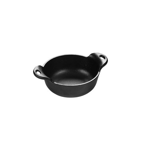 Cast Iron Mini Serving Bowl Heat-Treated 12 Ounce