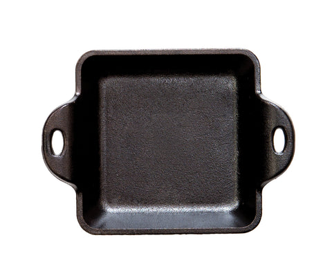 Cast Iron Mini Server Heat-Treated 10 Ounce Square
