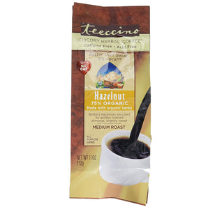 Teeccino Herbal Coffee Hazelnut, 11 oz