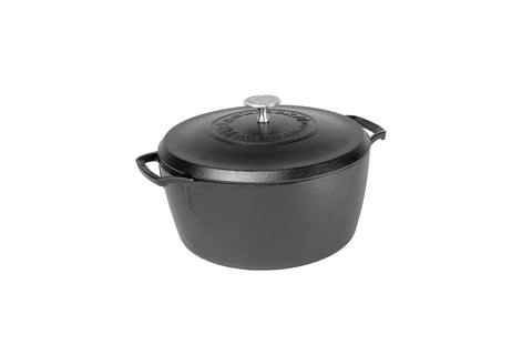 Blacklock *02* 5.5 Quart Triple Seasoned Cast Iron Dutch Oven