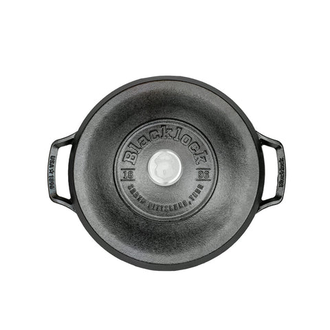 Image of Blacklock *02* 5.5 Quart Triple Seasoned Cast Iron Dutch Oven