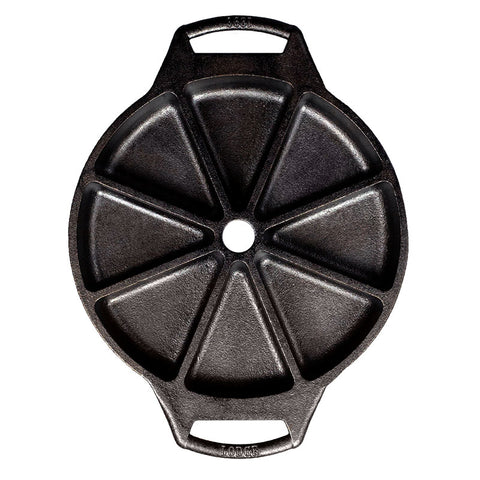 Image of Seasoned Cast Iron Wedge Pan