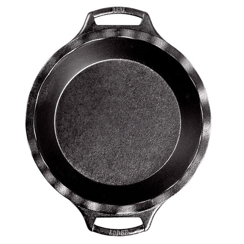 Seasoned Cast Iron Pie Pan 9 Inch