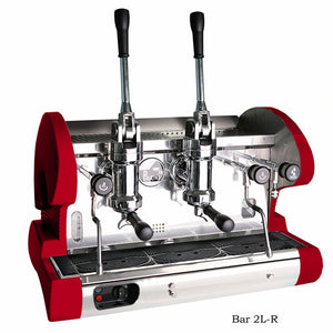 La Pavoni BAR 2L-R, 2 group lever, Red